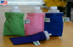 THE POWCH! - The ONLY Reusable Drink and Food Pouch MADE IN USA