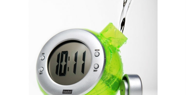 Bedol Water Clock earns k.o. kidz green products 'best of show' honors at Chicago's International Home + Housewares Show