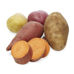 potatoes sweet-potatoes