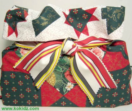 How To Make Fabric Gift Bags And Wrap