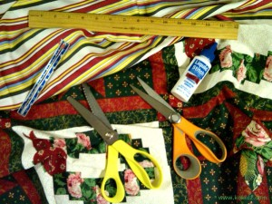 HOW-TO-MAKE-FABRIC-GIFT-BAGS-AND-WRAP-no-sewing-necessary Gift-bag-supplies