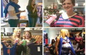 THE POWCH! HITS THE FASHION RUNWAY WITH CHICAGO CELEBRITIES AT KICKIN' MATERNITY BOUTIQUE