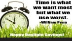 daylight-savings-william-penn-quote|monday-motivation|ko-kidz|THE-POWCH