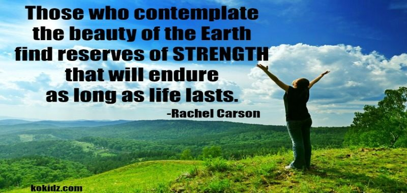 monday-motivation-meditation-woman-outstretched-arms-hilltop-mountain-abundance-affirmation-QUOTE-rachel-carson-ko-kidz-ko-ecolife