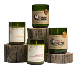 7 EARTH-LOVING VALENTINE GIFTS|ko-kidz|ko-ecolife|rescued-wine-candles-display