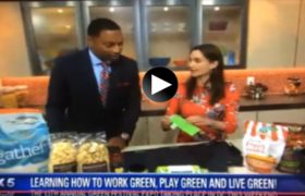 GREEN FESTIVALS RECOMMENDS The POWCH! ON Fox5 GOOD DAY DC