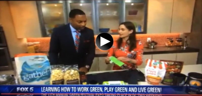 Green Festivals Recommends The POWCH! on Fox5 GoodDayDC