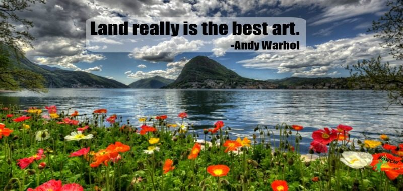 monday-motivation-meditation-poppies-flowers-mountain-landscape-quote-andy-warhol-ko-ecolife-the-powch